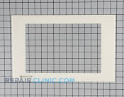 Oven Door Glass - Part # 1004803 Mfg Part # 53001133