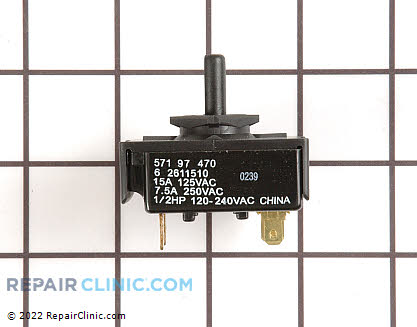 Maytag Washing Machine Rotary Switch
