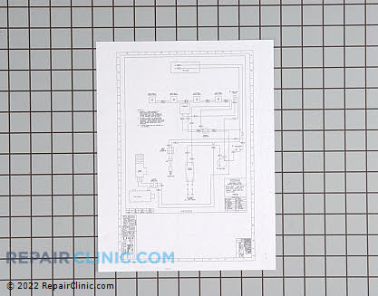 Wiring diagram 316255203 Main Product View