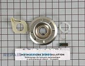 Clutch asm - Part # 279623 Mfg Part # WH39X47