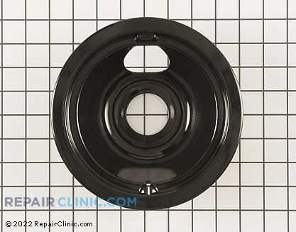 6 Inch Burner Drip Bowl WB31M20 Main Product View