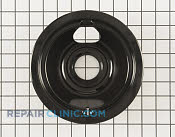 6 Inch Burner Drip Bowl - Part # 9 Mfg Part # WB31M20