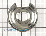 6 Inch Burner Drip Bowl - Part # 3 Mfg Part # WB32X10012