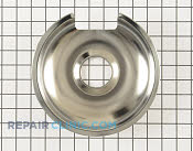8 Inch Burner Drip Bowl - Part # 7 Mfg Part # WB32X10013