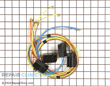 Element Receptacle and Wire Kit (OEM)  WB18K5378, 246231