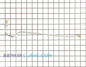 Gas Tube or Connector - Part # 255884 Mfg Part # WB28K10012