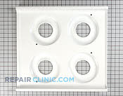 Metal Cooktop - Part # 265525 Mfg Part # WB62X5461