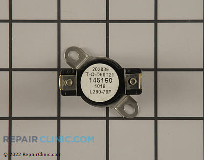 Hotpoint High Limit Safety Thermostat