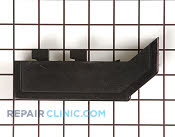 End cap,black ,rh ,without cut out - Part # 406995 Mfg Part # 131288210