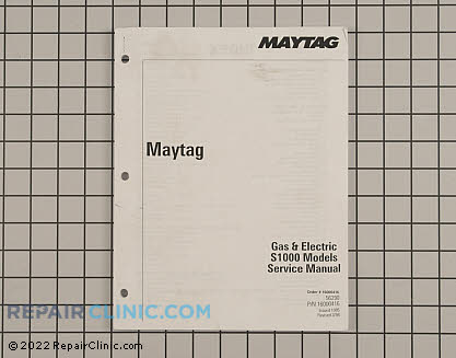 Repair Manual 16000416 Main Product View