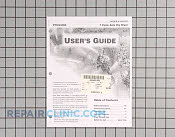 Owner's Manual - Part # 487776 Mfg Part # 31001323