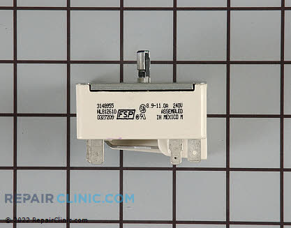 Whirlpool Range Surface Element Switch