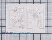 Wiring diagram - Part # 493921 Mfg Part # 316002169