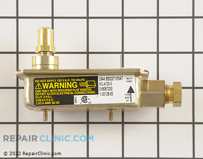 Tappan Oven Safety Valve