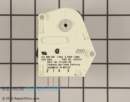 Defrost Timer (OEM)  4391974