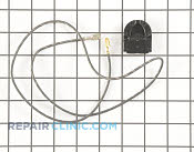 Receptacle, lamp - Part # 705497 Mfg Part # 7408P005-60