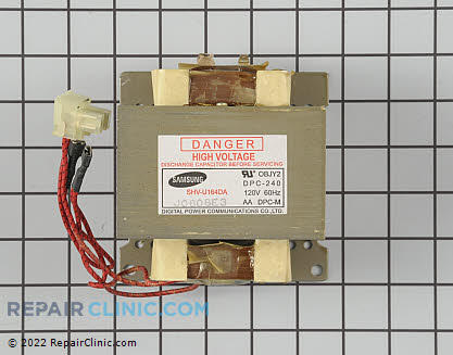 High Voltage Transformer (OEM)  WB27X10189