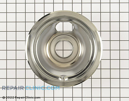 6 Inch Burner Drip Bowl (OEM)  WB31T10010 - $6.20