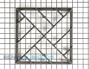 Burner Grate - Part # 778371 Mfg Part # 70001589