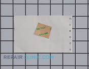Adhesive tape,1`` lg. - Part # 782602 Mfg Part # 5303323175