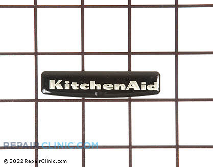Kitchenaid Range Nameplate