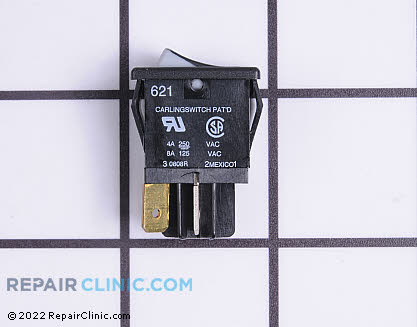 Rocker Switch (OEM)  WB24T10042 - $8.70