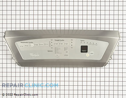 Whirlpool Control Panel with Touchpad