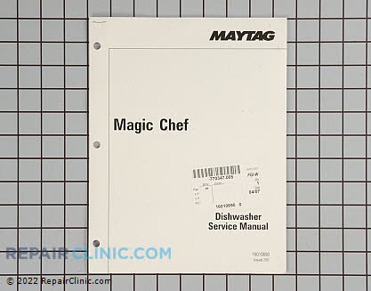 Magic Chef Dishwasher Repair Manual