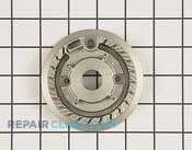 Surface Burner Cap - Part # 906818 Mfg Part # 4455849
