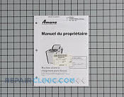Owner's Manual - Part # 915690 Mfg Part # 40093001