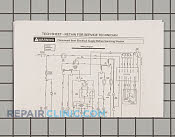 Wiring Diagram - Part # 936713 Mfg Part # 134000400