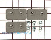 Kit brake pad - Part # 944186 Mfg Part # WH49X10027