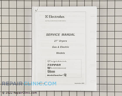 Kenmore Service Manual
