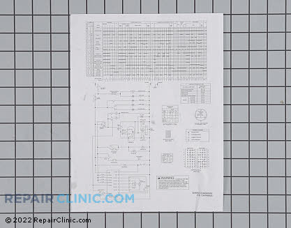 Wiring Diagram 134148800 Main Product View