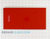 Panel, container front/handle (empire red/sst.) - Part # 960245 Mfg Part # 4396300