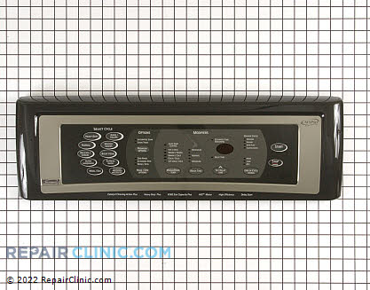 Kenmore Touchpad and Control Panel