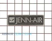 Nameplate - Part # 1545688 Mfg Part # W10114211