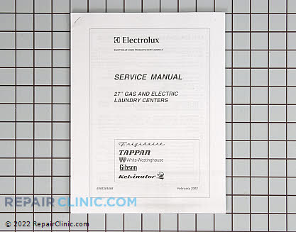 Repair Manual 5995381885 Main Product View
