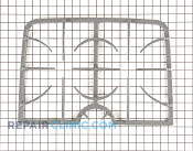 Burner Grate - Part # 1035331 Mfg Part # 74009083