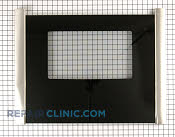 Oven Door Glass - Part # 1050787 Mfg Part # 471648