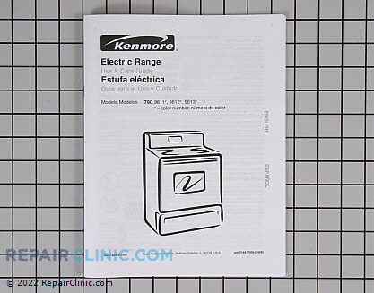 Kenmore Stove Owner's Manual