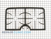 Burner Grate - Part # 1072914 Mfg Part # 74010125