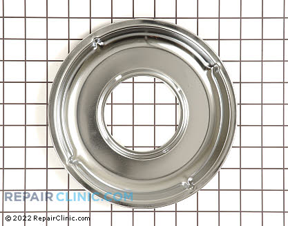 Burner Drip Bowl (OEM)  WB21K10030 - $17.95