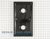 Pan aeration black - Part # 1086829 Mfg Part # WB32X10042