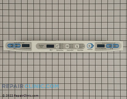 Touchpad and Control Panel WR49X10095 Main Product View