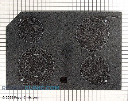 Glass Cooktop (OEM)  8190778, 1154674
