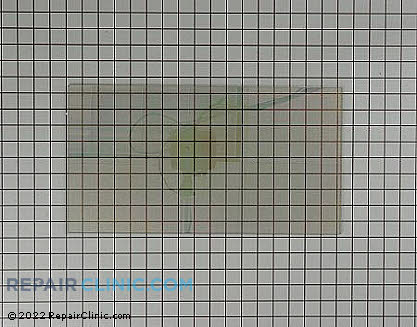 Outer Door Glass 316427701 Main Product View
