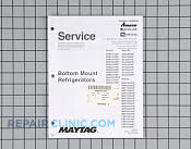 Repair Manual - Part # 1159190 Mfg Part # 16025629