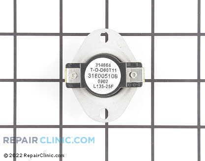 Cycling Thermostat 318005108 Main Product View