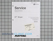 Repair Manual - Part # 1184412 Mfg Part # 16025911
